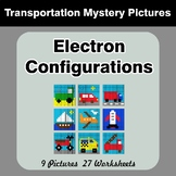Electron Configurations - Mystery Pictures - Transportation