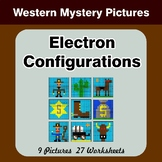 Electron Configurations - Mystery Pictures - Western