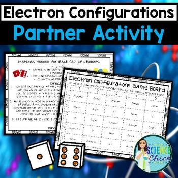 Electron Configurations Partner Activity