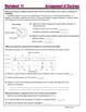 Electron Configurations - Worksheets & Practice Questions for HS Chemistry