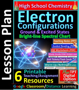 electron configuration review answer key