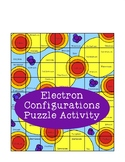 Electron Configurations of Elements Puzzle Activity Periodic Table Chemistry