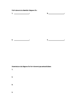 Electron Dot Diagram Practice