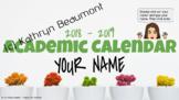 Electronic Calendar/Agenda - 18/19 School Year - Google