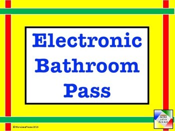 Electronic Hall Pass