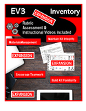 Electronic Inventory for LEGO EV3 Expansion Set #45560