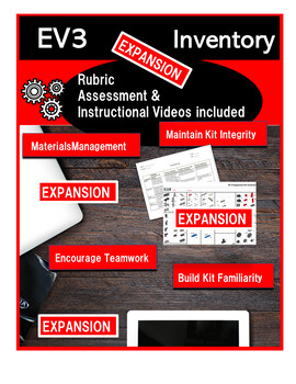 Electronic Inventory for LEGO EV3 Expansion Set #45560