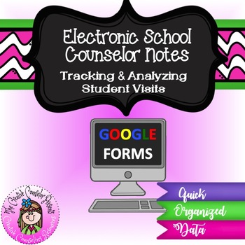 Electronic School Counseling Notes on Student Services Online Google Form