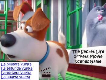 Secret Life of Pets Spanish Movie Scenes Game 2- La Vida Secreta de Tus Mascotas