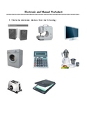 Electronic and Manual machines
