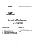 Electronics Exam year 9 Industrial Arts