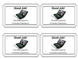 Electronics Reward Ticket