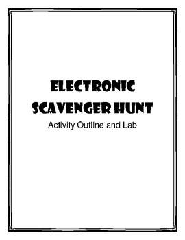 STEM Electronics Scavenger Hunt Science Lab