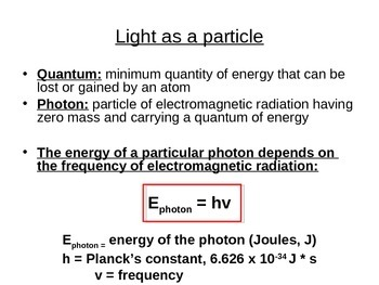 Electrons and Quantum Numbers Powerpoint (Pre-electron configuration)