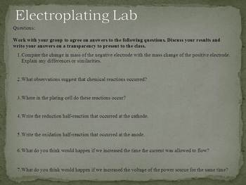 Electroplating is an important application of electrolysis
