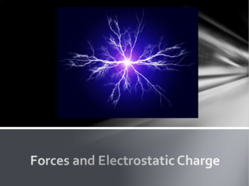 Electrostatic Force and Static Electricity