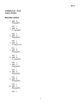 Electrostatics - Coulombs Law Practice (Force)