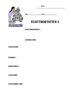 Electroststics 1