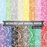 Digital Paper - Lace