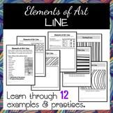 Elelments of Art: Line