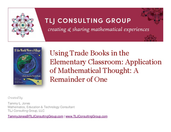 Elem Trade Books: App of Mathematical Thought: If the World Were a Village