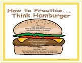Elemenatary Band Practice Journal - The Hamburger