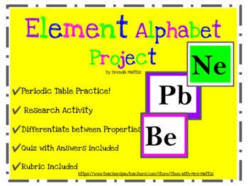 Element Alphabet Project