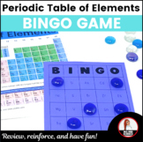 Chemical Element Bingo