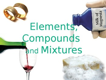 Element, Compound, and Mixture