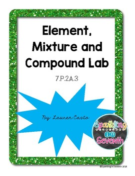 Element, Compound and Mixture Lab