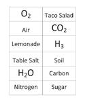 Element, Compound, and Mixture Quiz