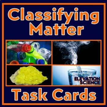 Element, Compound or Mixture? Critical Thinking Exercises, Warm-Ups (Updated!)