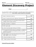 Element Discovery Project