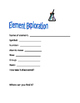 Periodic Table Element Exploration Enrichment Activity