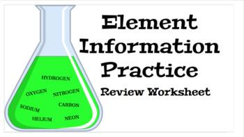 Element Information Practice