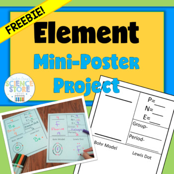 Element Mini-poster Project- FREEBIE!