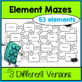Element Name and Symbol Maze