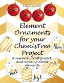 Element Ornament Research Craft and Write Up- Digital and Paper