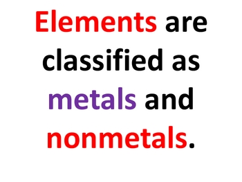 Element Posters