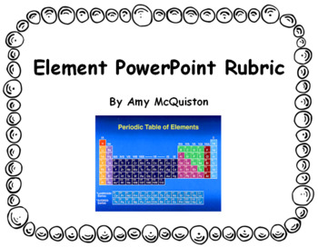 Element PowerPoint Rubric
