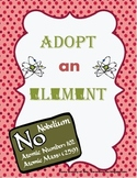 Element Project; Great Template for ELL or Special Education