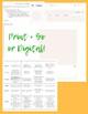 Periodic Table Practice: Element Instagram Activity