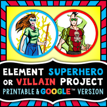 Element superhero or villain project periodic table research project urtaz Images