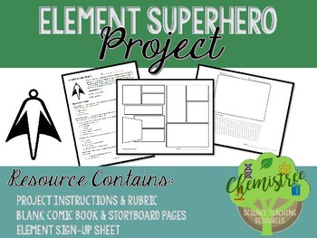 Element Superhero Project