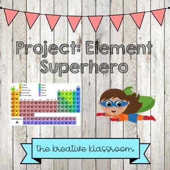 Element Superhero Project