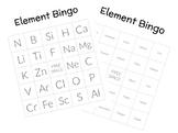 Element Symbol BINGO