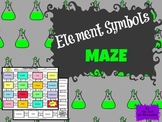 Element Symbols: Science Maze Activity