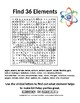 Find 36 Elements - A Word Search on the Periodic Table