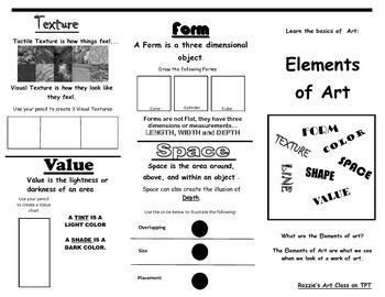 Element of Art Brochure