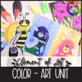 Element of Art: COLOR, Art Lessons, Unit